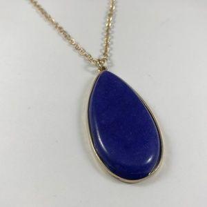 Vintage Lapis Lazuli Necklace, Vintage Jewelry